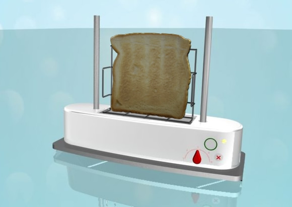 Concept design for a toaster