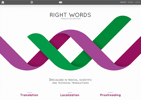 Right Words Translation Services Web